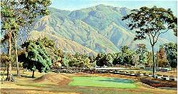 El Ávila visto desde el Country Club (Cabré,1948)