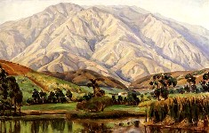 Vista al Ávila desde la Laguna de Boleita (Cabré,1930)